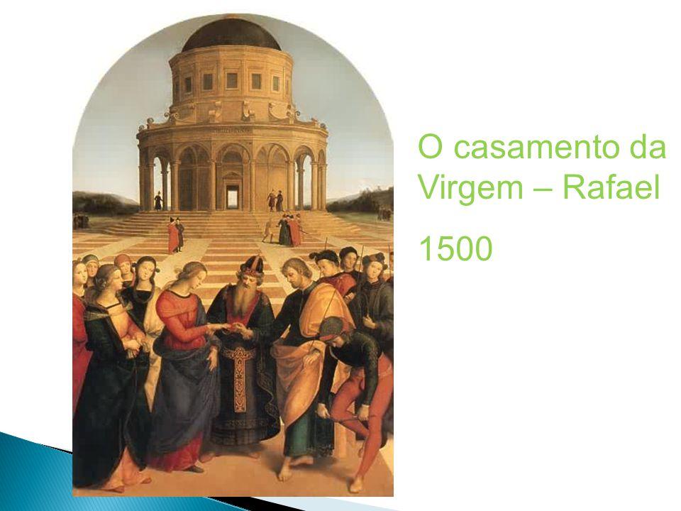 O casamento da Virgem – Rafael