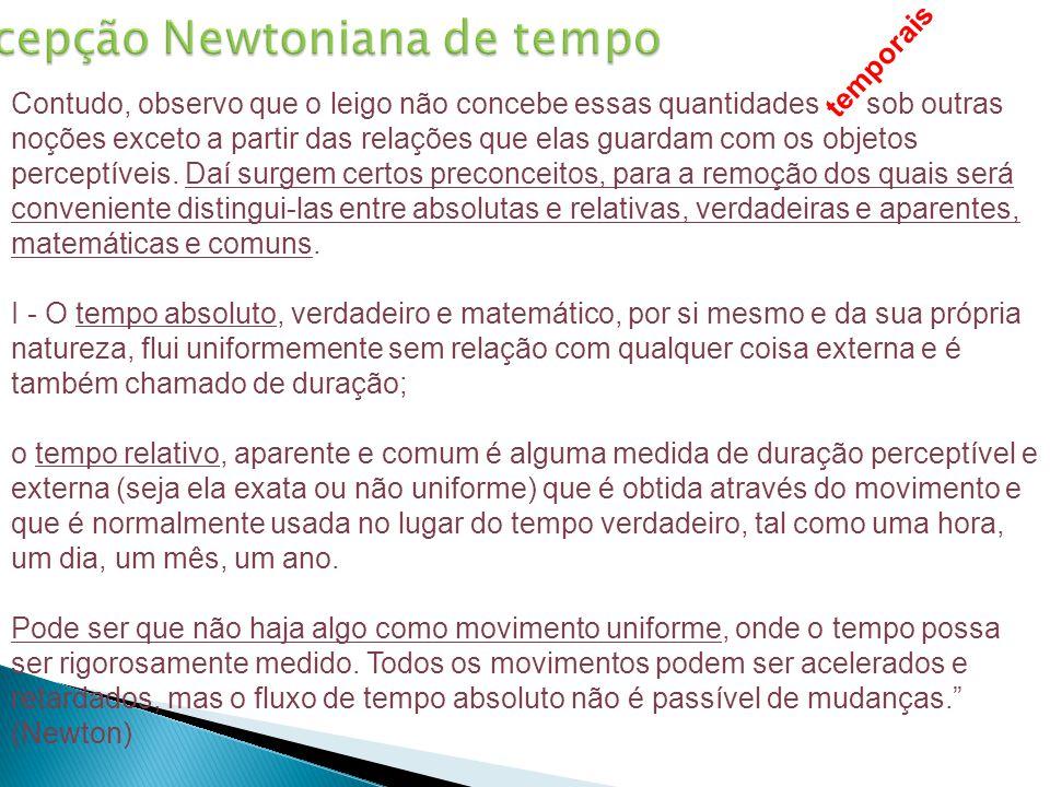 Concepção Newtoniana de tempo