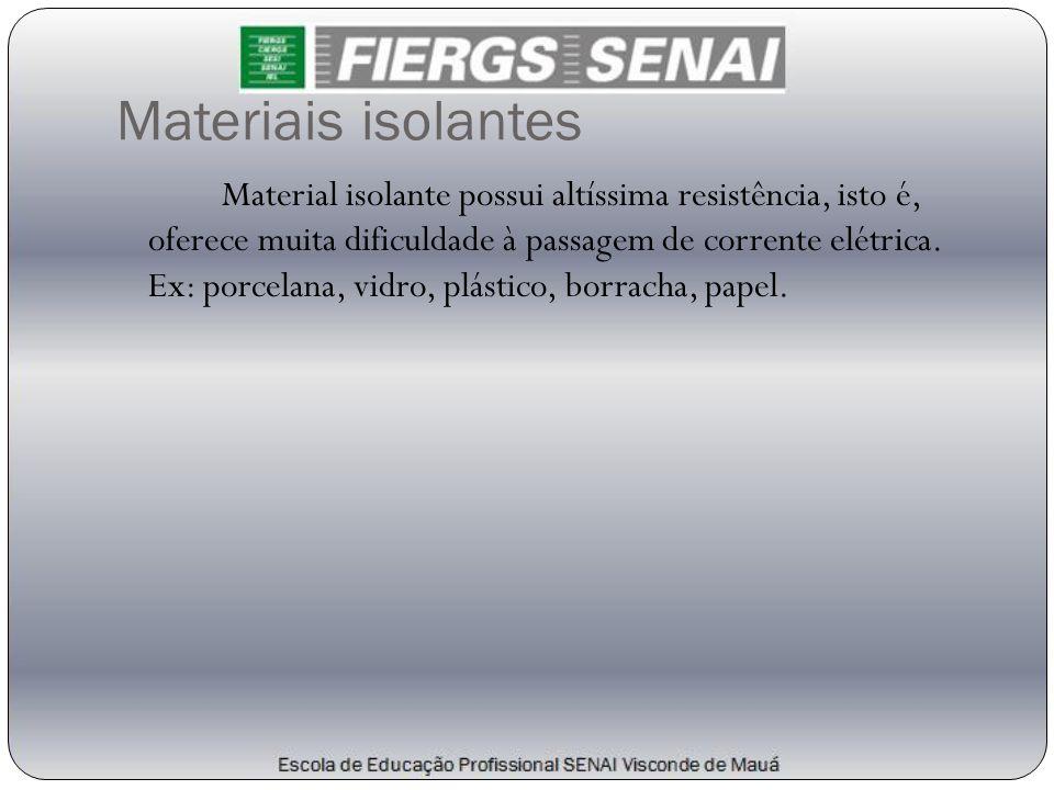 Materiais isolantes