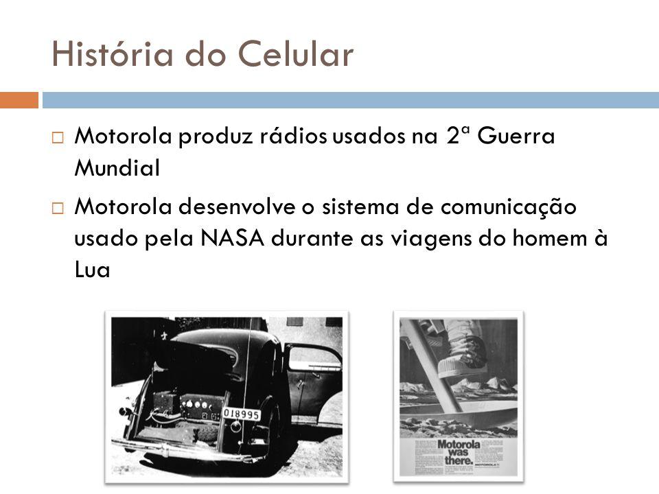 História do Celular Motorola produz rádios usados na 2ª Guerra Mundial