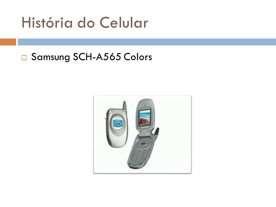 História do Celular Samsung SCH-A565 Colors
