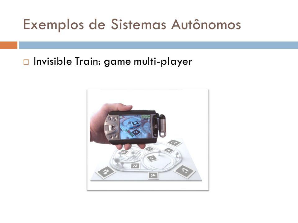 Exemplos de Sistemas Autônomos