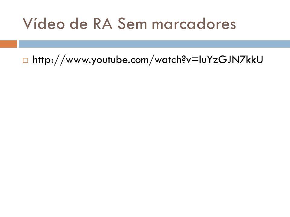 Vídeo de RA Sem marcadores