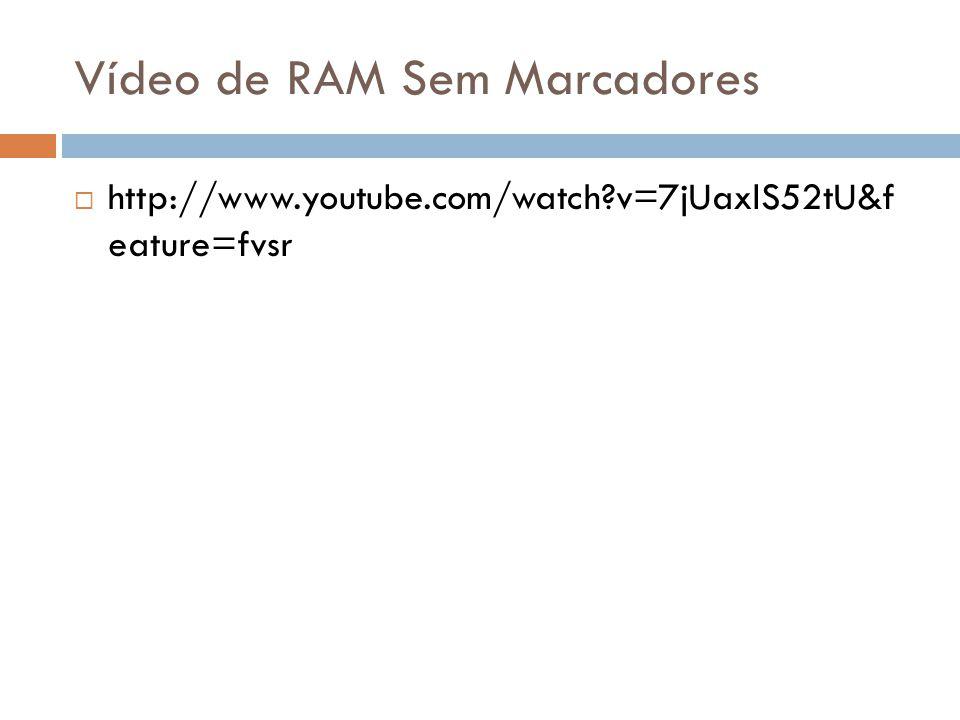 Vídeo de RAM Sem Marcadores