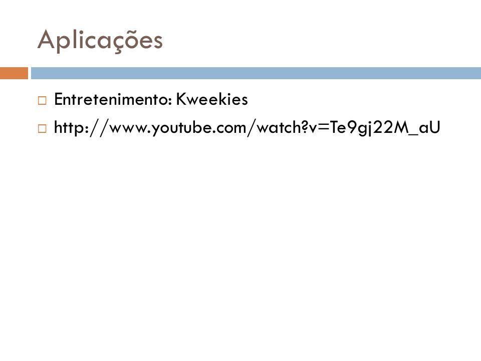 Aplicações Entretenimento: Kweekies