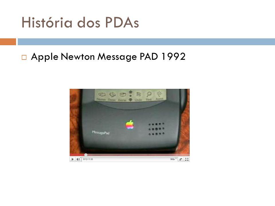 História dos PDAs Apple Newton Message PAD 1992