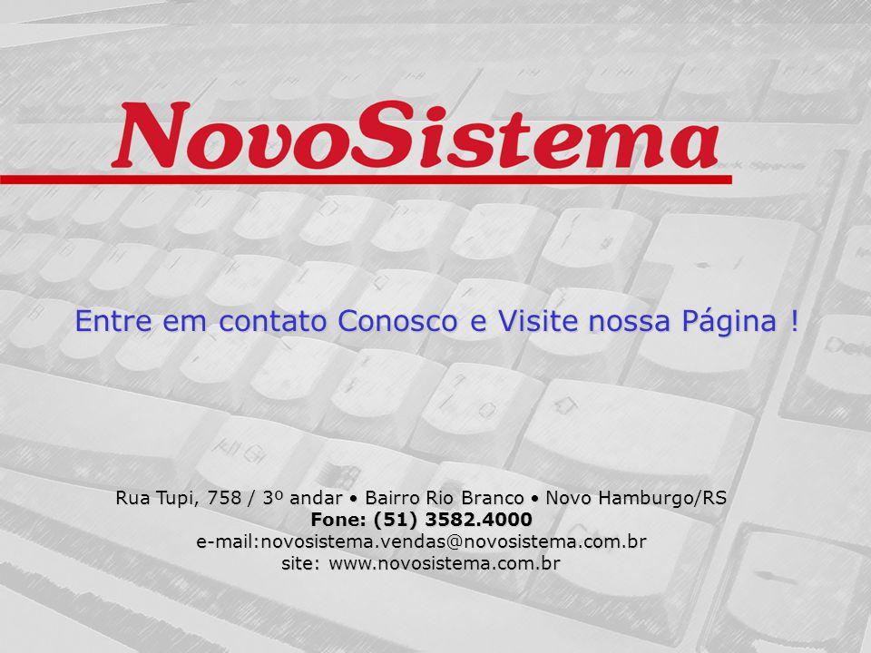 Entre em contato Conosco e Visite nossa Página !