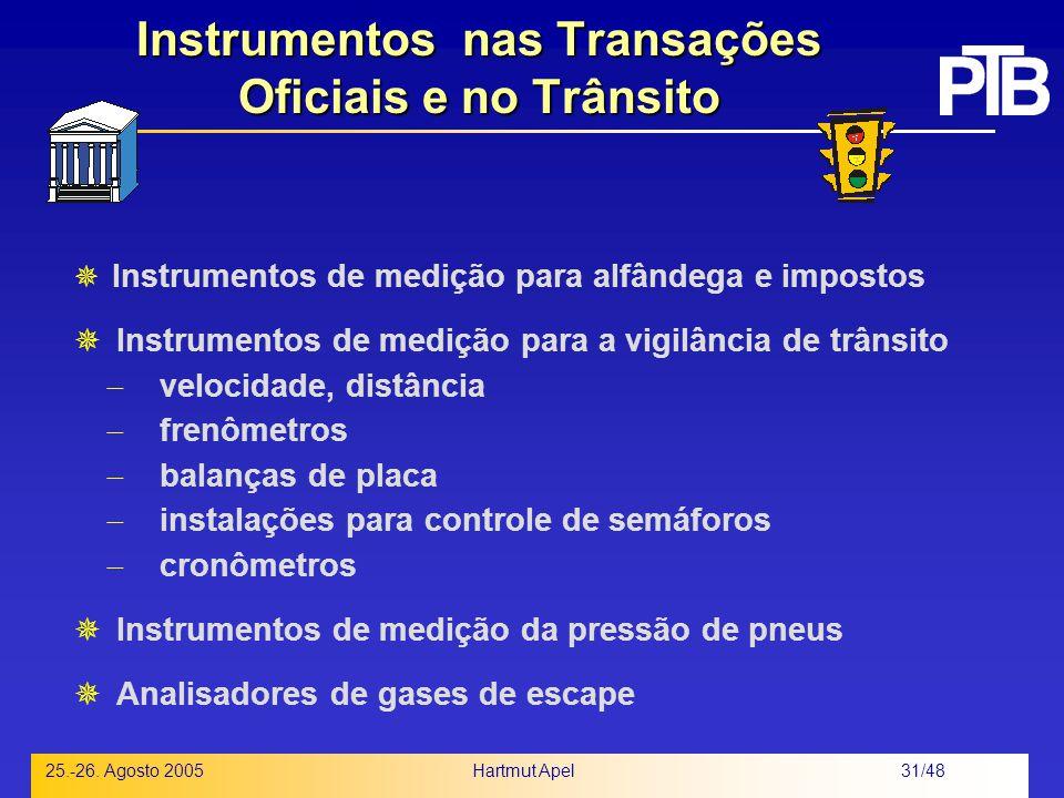 Instrumentos nas Transações Oficiais e no Trânsito