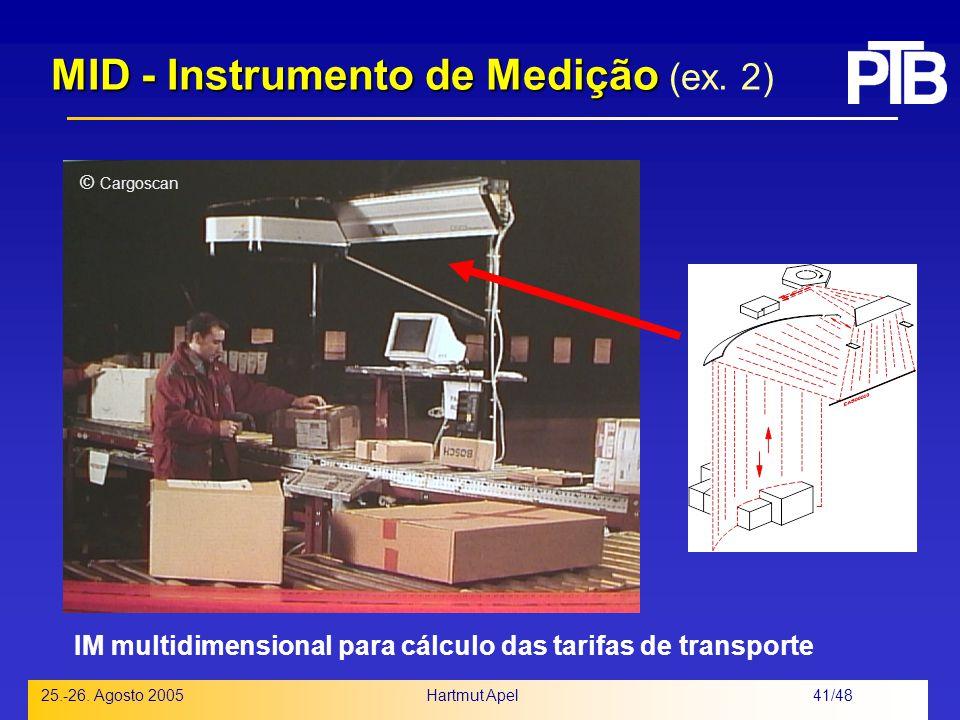 MID - Instrumento de Medição (ex. 2)