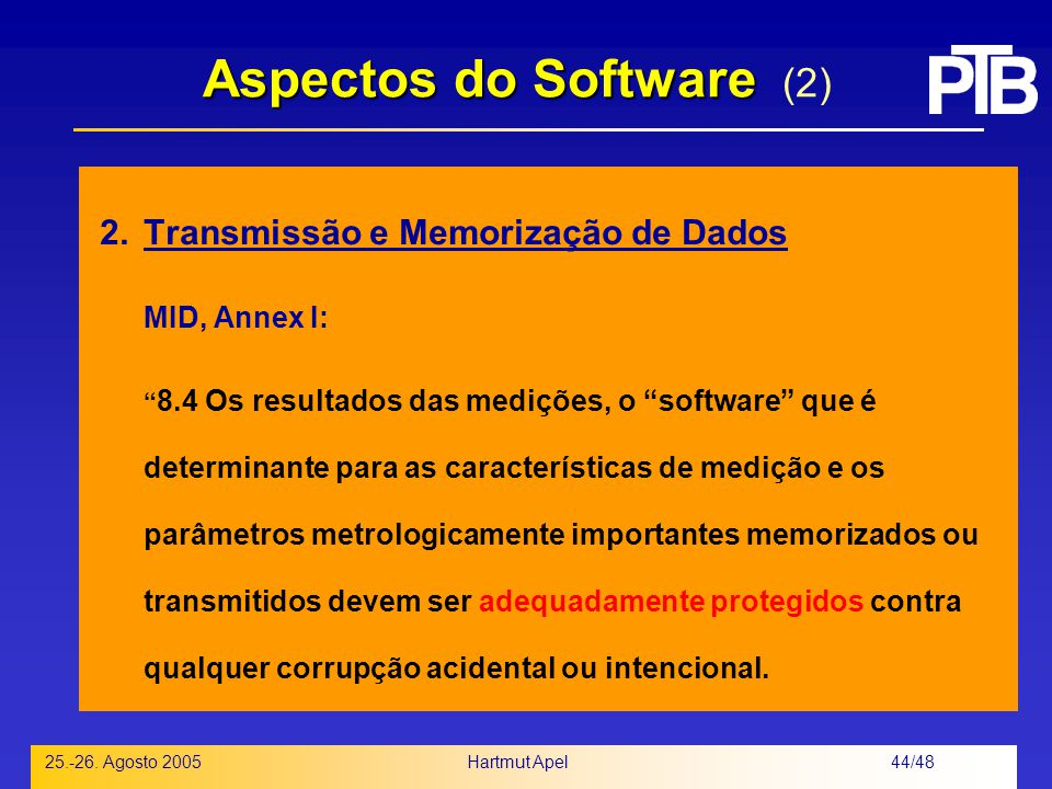 Aspectos do Software (2)