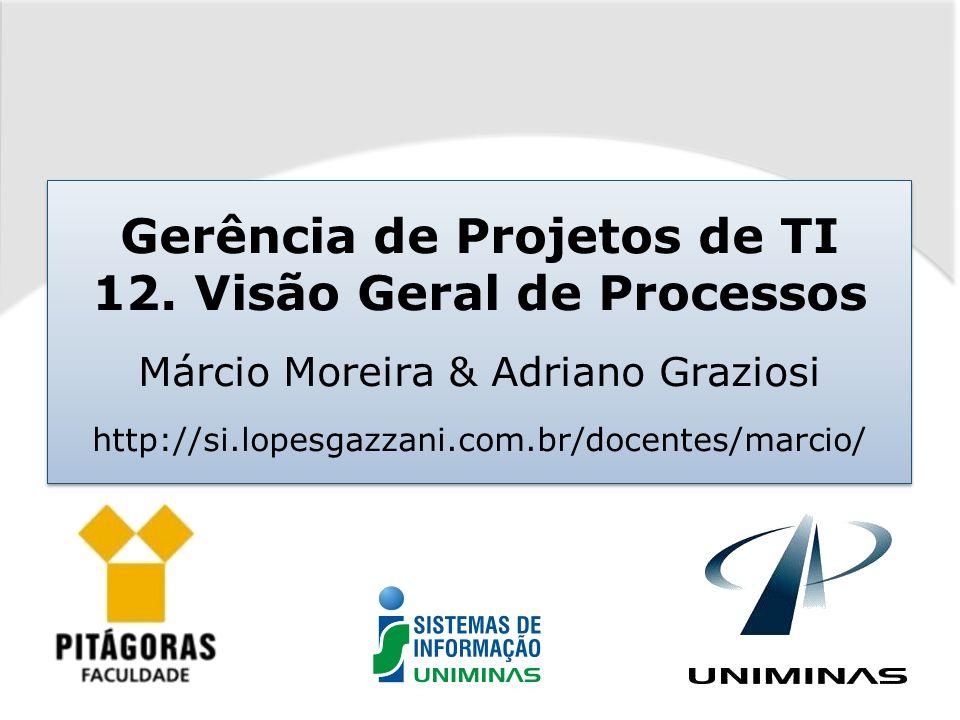 Gerência de Projetos de TI 12