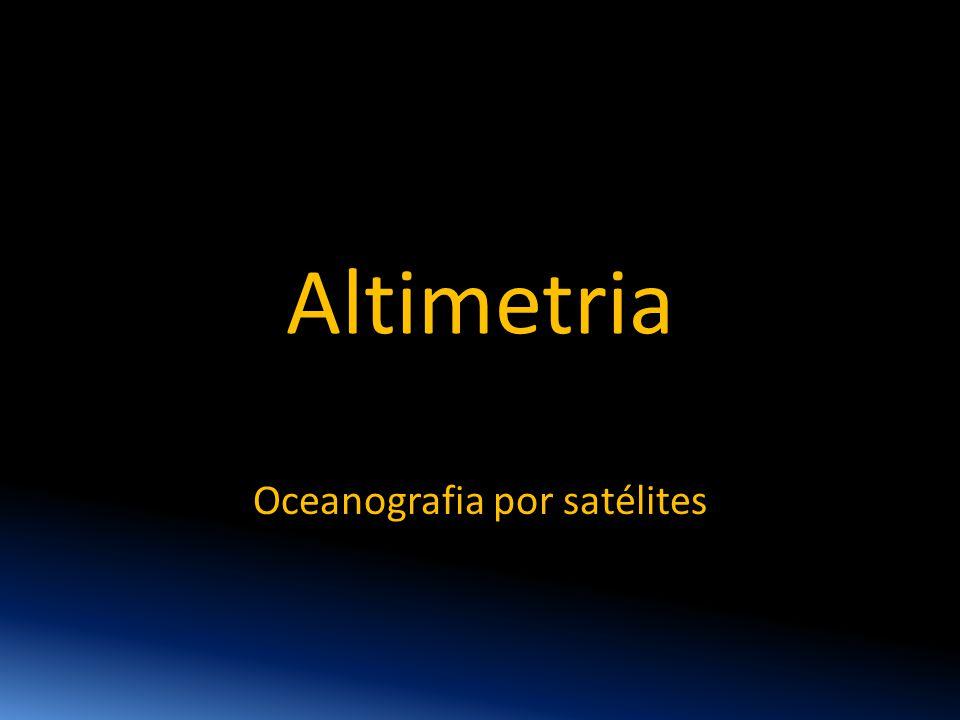 Oceanografia por satélites