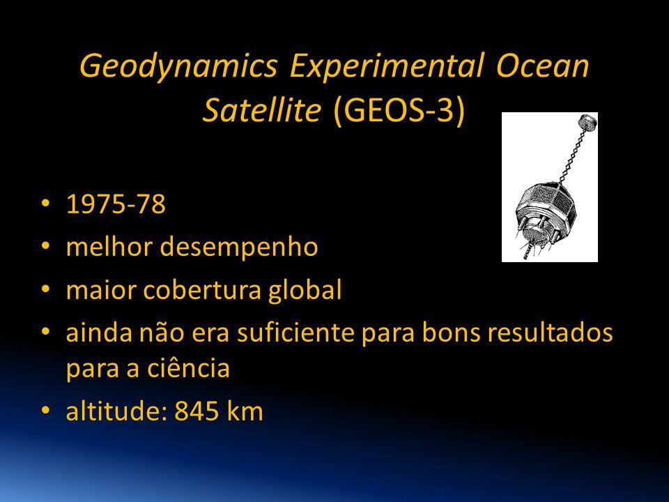 Geodynamics Experimental Ocean Satellite (GEOS-3)