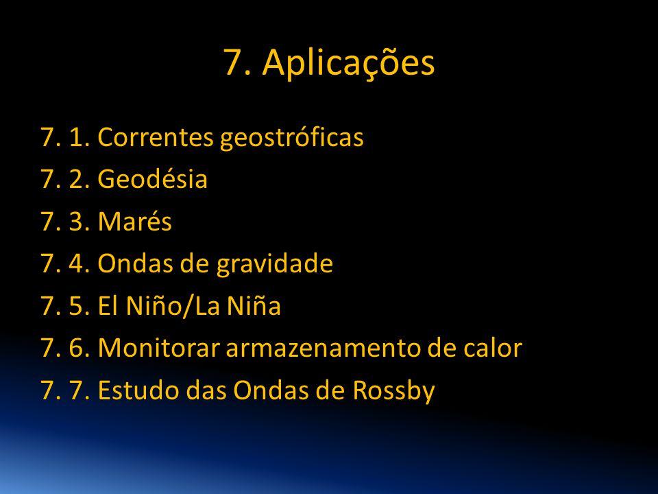 7. Aplicações