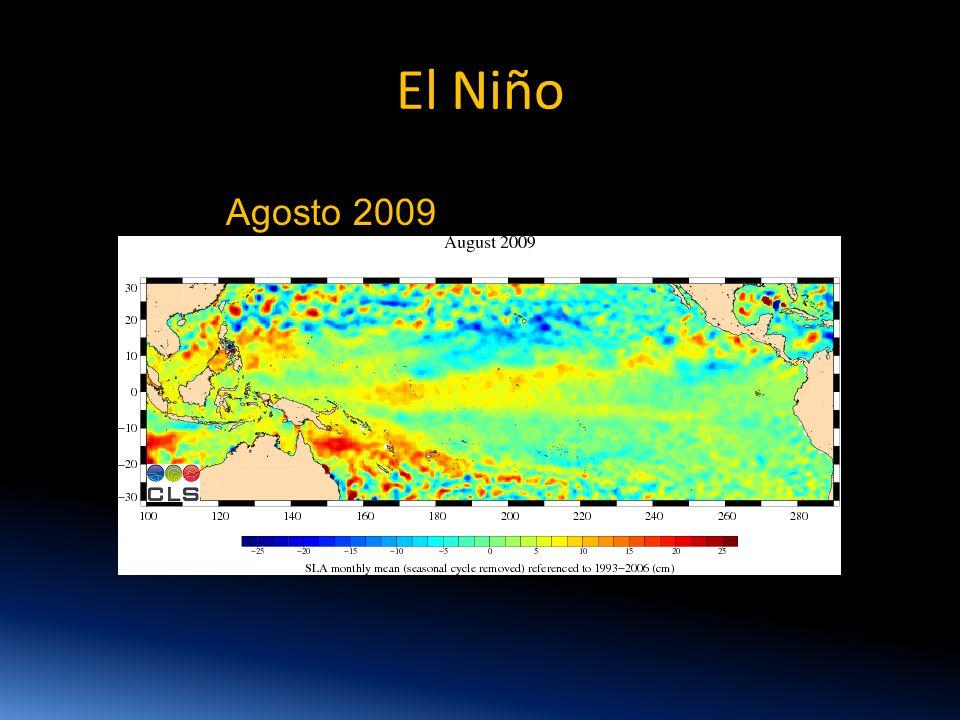 El Niño Agosto 2009
