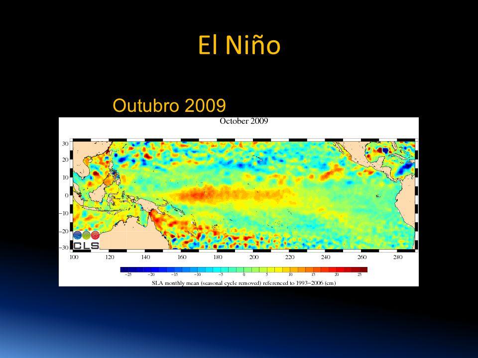 El Niño Outubro 2009