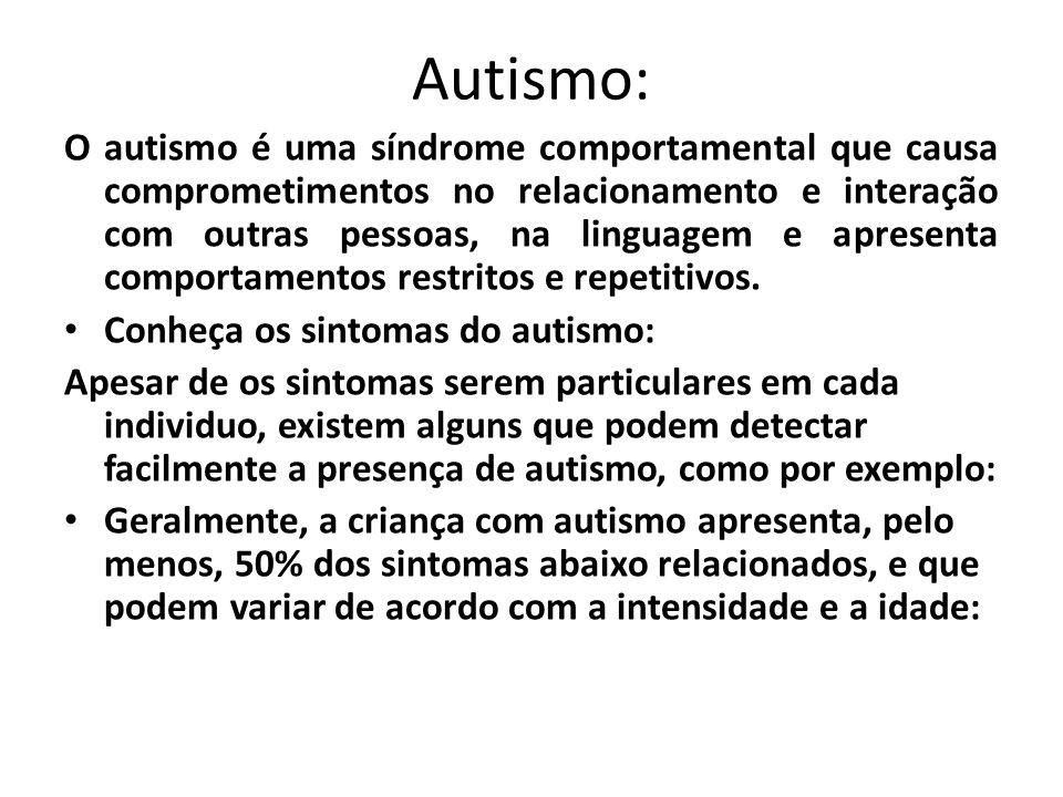 Autismo: