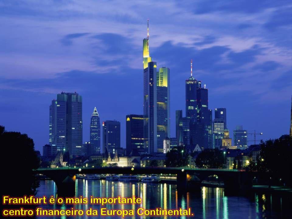 Frankfurt é o mais importante