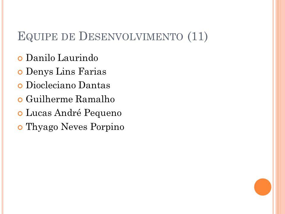 Equipe de Desenvolvimento (11)