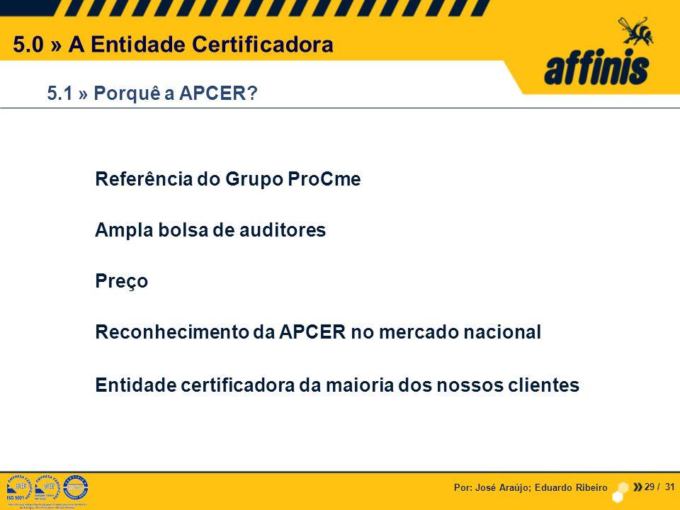 5.0 » A Entidade Certificadora