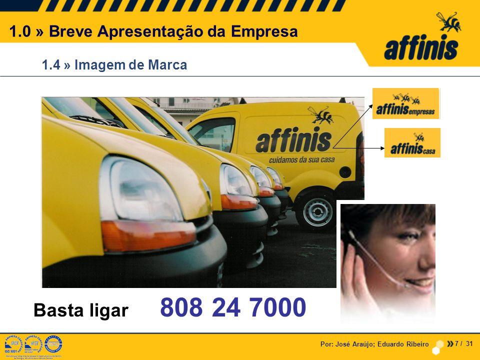 Basta ligar 808 24 7000 1.0 » Breve Apresentação da Empresa
