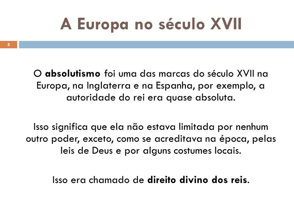 A Europa no século XVII