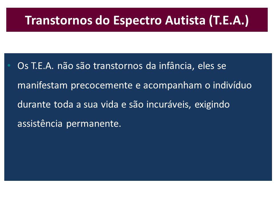 Transtornos do Espectro Autista (T.E.A.)