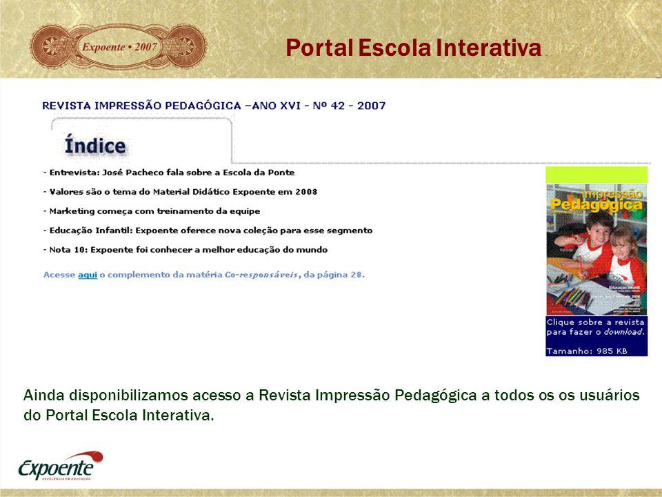 Portal Escola Interativa