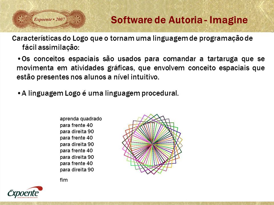 Software de Autoria - Imagine