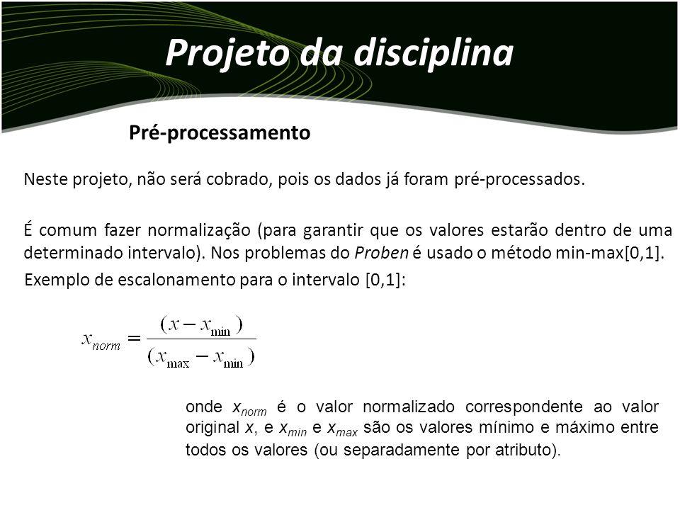 Projeto da disciplina Pré-processamento