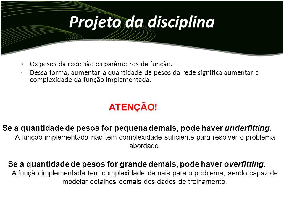 Projeto da disciplina ATENÇÃO!