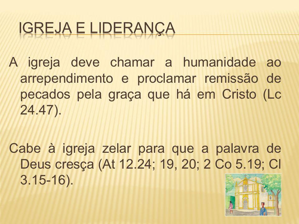 Igreja e Liderança