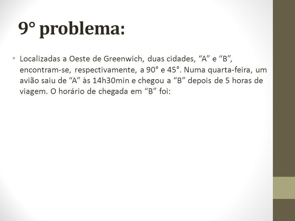 9° problema: