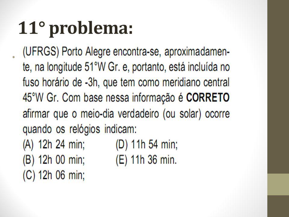 11° problema:
