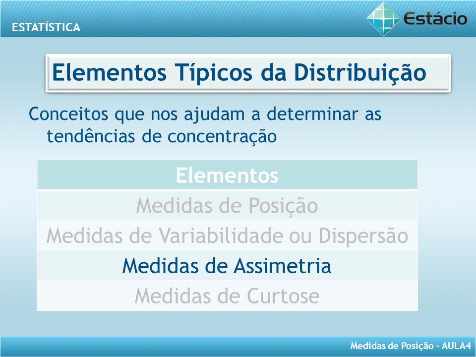 Elementos Típicos da Distribuição
