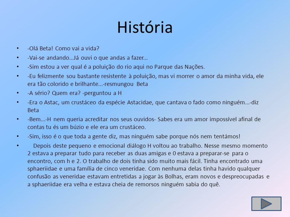 História -Olá Beta! Como vai a vida