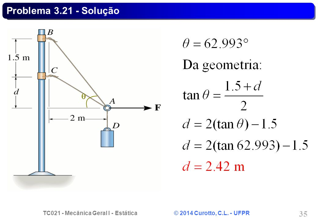 Problema 3.21 - Solução q