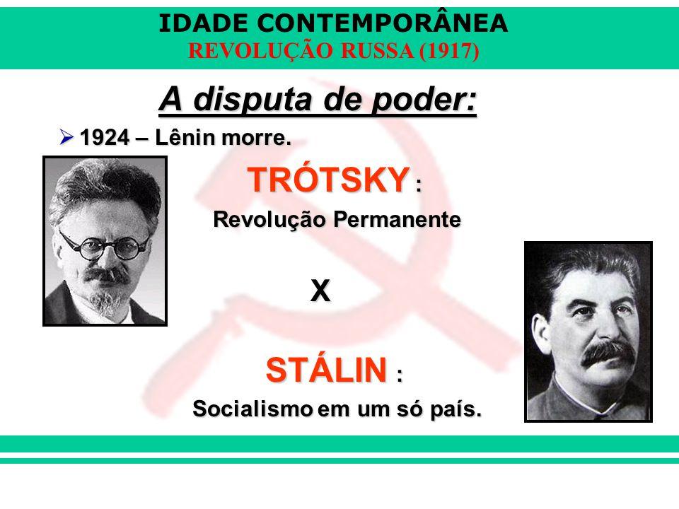 Socialismo em um só país.