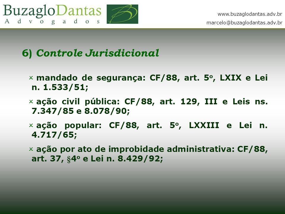 6) Controle Jurisdicional