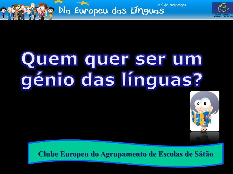 Quem quer ser um génio das línguas
