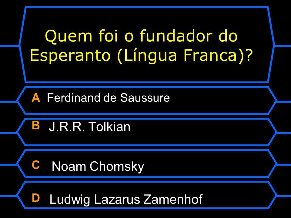 Quem foi o fundador do Esperanto (Língua Franca)