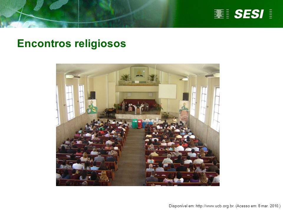 Disponível em: http://www.ucb.org.br. (Acesso em: 8 mar. 2010.)