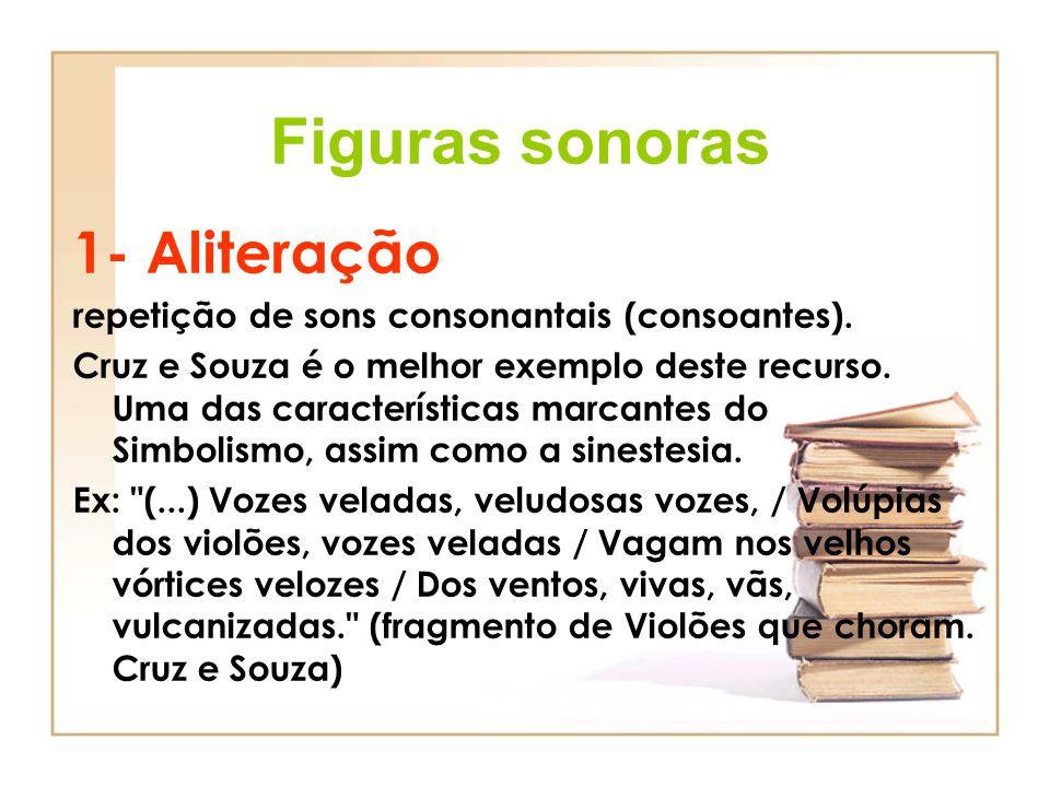 Figuras sonoras 1- Aliteração