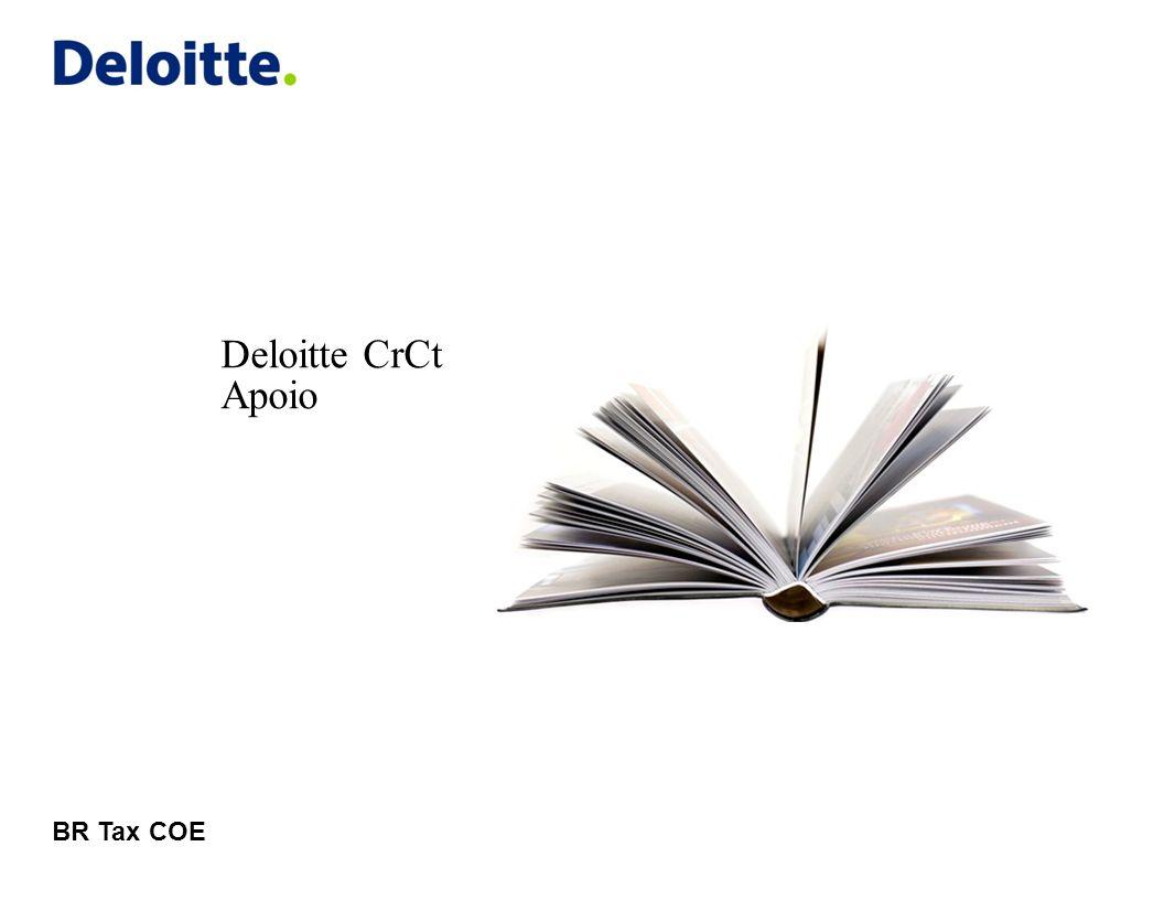 Deloitte CrCt Apoio BR Tax COE