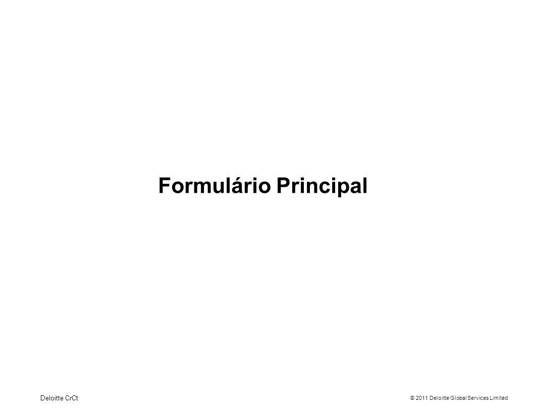 Formulário Principal Deloitte CrCt 8