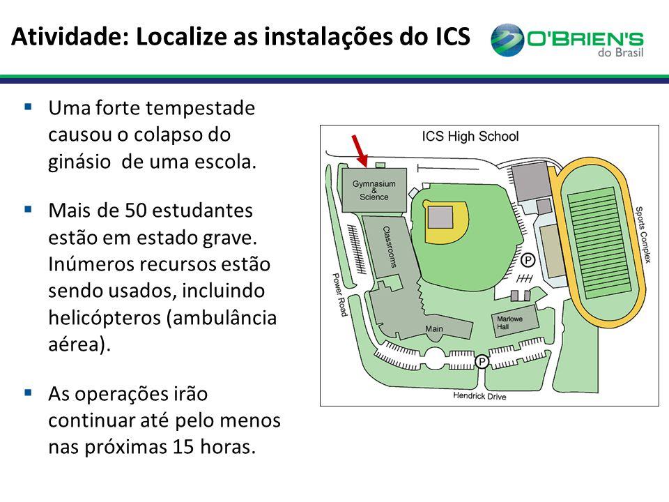 Atividade: Localize as instalações do ICS