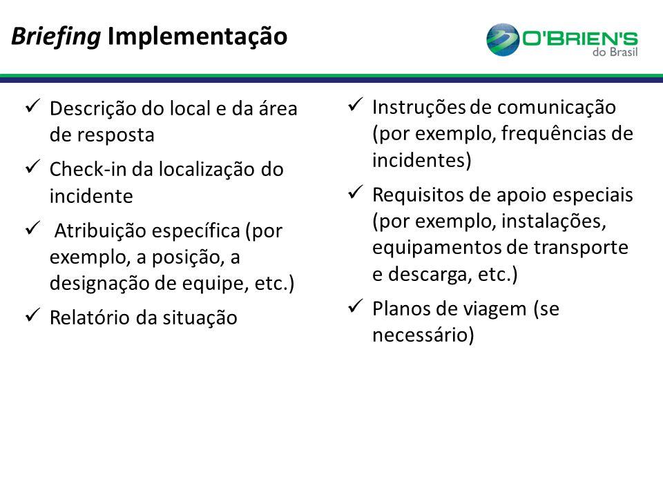 Briefing Implementação