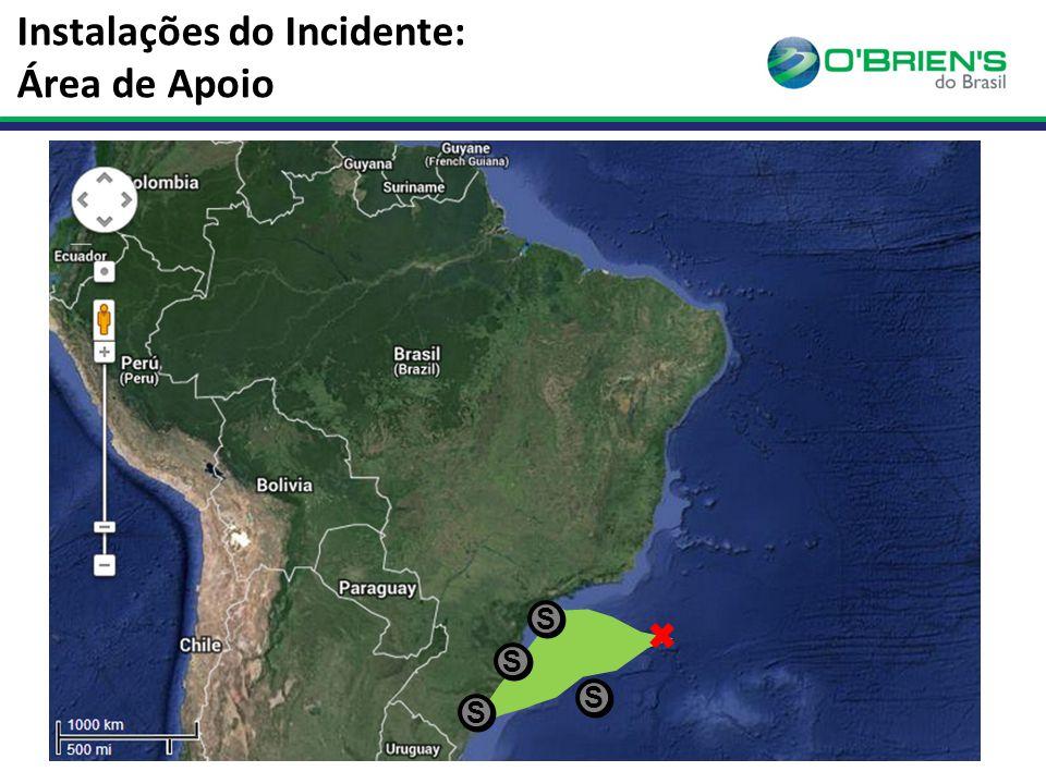 Instalações do Incidente: Área de Apoio