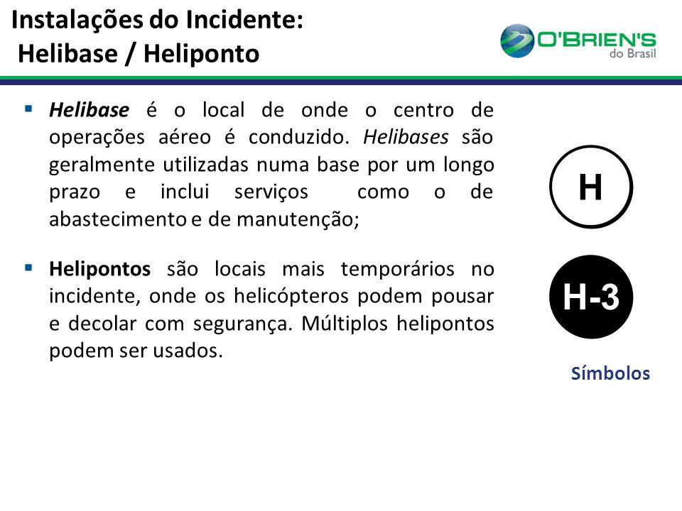 Instalações do Incidente: Helibase / Heliponto