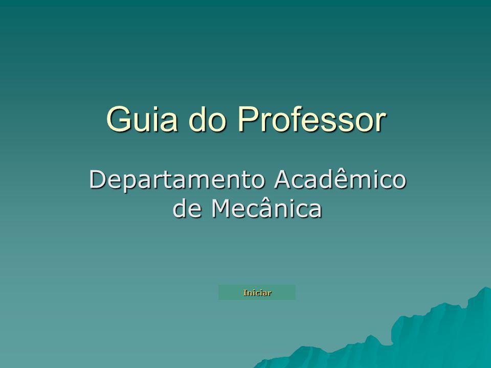 Departamento Acadêmico de Mecânica